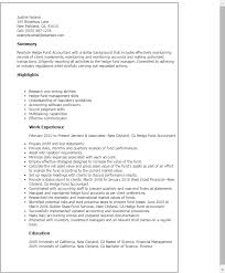 Hedge Fund Resume Template