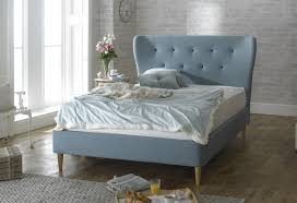 limelight aurora 6ft super kingsize duck egg blue fabric bed frame by limelight beds