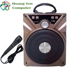 Tặng Micro] Loa Karaoke Bluetooth P88 89 - BH 3 tháng