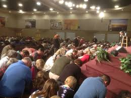 Image result for photo of People kneeling in prayer