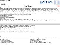 Sample Notes Completed ESOAP Note Sample NBOME 8