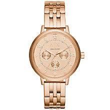 armani exchange watches uk men s ladies h samuel armani exchange ladies rose gold plated bracelet watch product number 5218551
