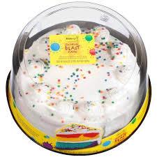 half sheet cake price walmart the bakery at walmart rainbow blast with vanilla buttercreme icing