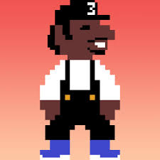 Chance The Rapper In 8 Bit Sound And Vision Pinterest Rapper