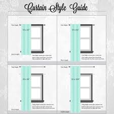 Image Result For Window Curtain Length In 2019 Curtains