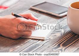 Girl writing diary