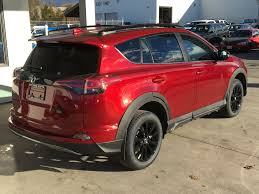 New 2018 Toyota RAV4 XLE Trail Edition I Black Alloy Wheels ...