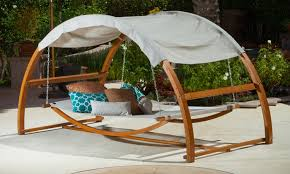 Rosalie Outdoor Swing Bed and Canopy: Rosalie Outdoor Swing Bed and Canopy  ...