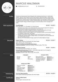 Graphic Designer Resume Tips Resume Examples By Real People Visual Designer Resume