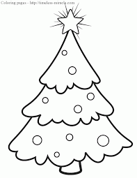 Free Christmas Tree Template Free Christmas Tree Coloring Pages Printable Timeless Miracle Com