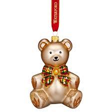 2017 Baby's First Christmas Nostalgic Teddy Bear | Waterford Christmas Tree  Decoration | Teddy Bear Ornament