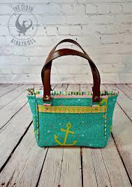 Blue Calla Patterns Classy The Dandelion Double Zip Handbag PDF Sewing Pattern Blue Calla