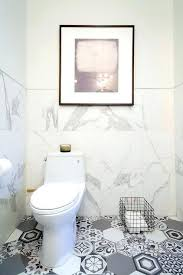 mosaic floor tiles bathroom white marble bathroom with gray mosaic hex tile floor view full size