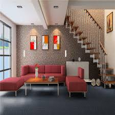hot ing unti slip fire resistance gray woven vinyl flooring for livingroom