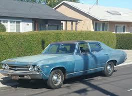 1969 Chevy Chevelle Malibu 4door New Tires Breaks Rebuilt Eng ...