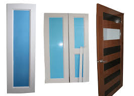 Puertas Para Baño Vidrio  DikiducomPuertas Batientes Para Cocina