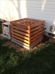air conditioning covers outside. air conditioner decorative cover to match the deck conditioning covers outside