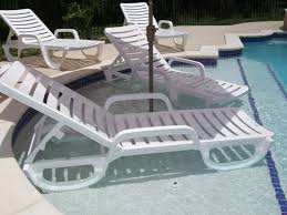 amazing armless chaise lounge chair modern outdoor pool patio beach in pool chaise lounge ordinary