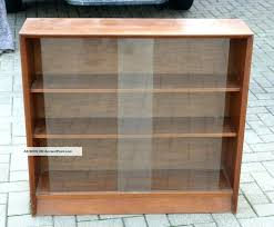 antique bookcase with glass doors bookcase sliding glass doors sliding doors bookshelf glass metal solid wood