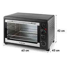 capacity and size toaster oven size