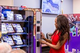 Vending Machine Convention Las Vegas 2017 Unique Nation's First Public Needle Vending Machine For Drug Users Debuts