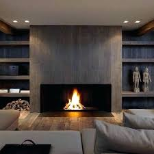 stone corner electric fireplace fireplaces look