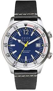 CCCP Black Sea Automatic Silver Black Blue: Cccp ... - Amazon.com