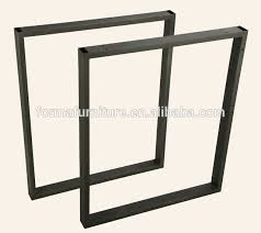 office desk legs. office furniture parts square tube table leg black powder coating desk legs 10004p12 a