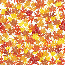 Fall Leaf Pattern Beauteous Abstract Autumn Background Creative Leaf Fall Orange Yellow Red