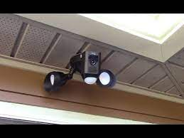 ring floodlight cam mounting