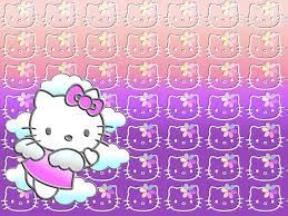 Gambar Hello Kitty Wallpaper Ungu Lucu ...