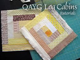 Tutorial: Quilt-As-You-Go (QAYG) Log Cabins | Modern Quilts ... & Tutorial: Quilt-As-You-Go (QAYG) Log Cabins Adamdwight.com