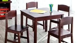 kidkraft round table and two chairs set large size of aspen chair white rectangle with storage