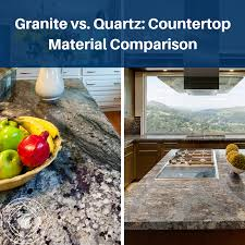 quartz countertop material comparison
