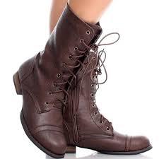 new brown women s combat boots m 5a8c7ef161ca1000b232ccff