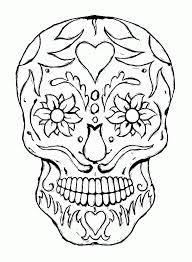Scary Halloween Coloring Pages Archives With Spooky Halloween ...