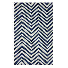 nuloom homestead navy arron chevron rug from