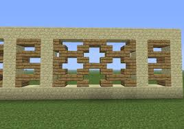 Modern Fence Design Minecraft Cool Wall Design Minecraft Rift