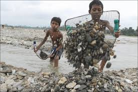 the problem of child labour truth youth children fishing for their employer in
