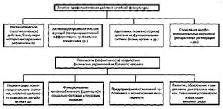 Дипломная работа Лечебная физическая культура при переломах кисти  Рисунок 10 Лечебно профилактическое действие лечебной физкультуры