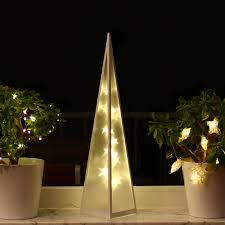 3d Weihnachtsbeleuchtung 60cm Hologramm Pyramide Weihnachten Weihnachtsdeko Fenster Led Innen Lichtpyramide Lichtkegel Leuchtpyramide 60cm