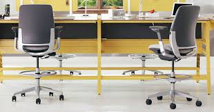 here we are in the era of state of the art ergonomic office environments here at hs we all have adjule height standing desks and we all use desk