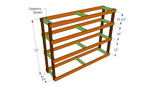 garage shelving plans building diy wooden back to wood for full size