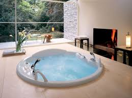 Bathroom:Smart Ways To Place Your Original Jacuzzi Design For Your Homes  Small Round Modern