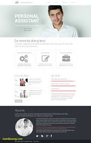 Excellent Personal Resume Website Templates Free Download Pictures