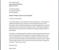 requesting a promotion letter sample letter requesting for job promotion cover letter