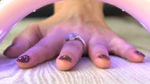 regular and uv gel nail polish together