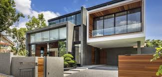 modern house. Simple House Contemporary Home Evoking A Warm Rustic Feel Mimosa Road In Singapore Intended Modern House T