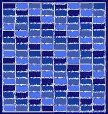Blue Jeans Quilts - easy denim quilts made from recycled jeans for ... & Jeans quilt Brick layout with seams outside Adamdwight.com