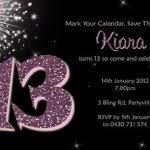 free 13th birthday invitations free 13th birthday invitations myspar info